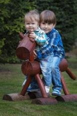 Portréty | Děti & Rodinky | Exteriér | Áďa a Tobík