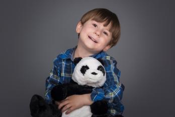 Portréty | Děti & Rodinky | Ateliér | Áďa a Tobík