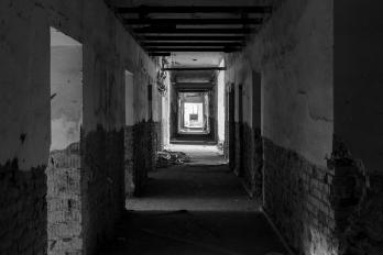 URBEX | Jánské Koupele | Chodba k pokojům