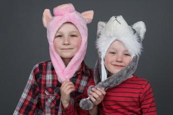 Portréty | Děti & Rodinky | Ateliér | Sourozenci Jarotkovi
