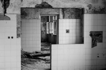URBEX | Žáry | Hlavní kuchyň